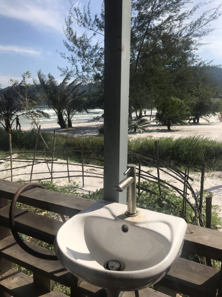 sky beach resort teras