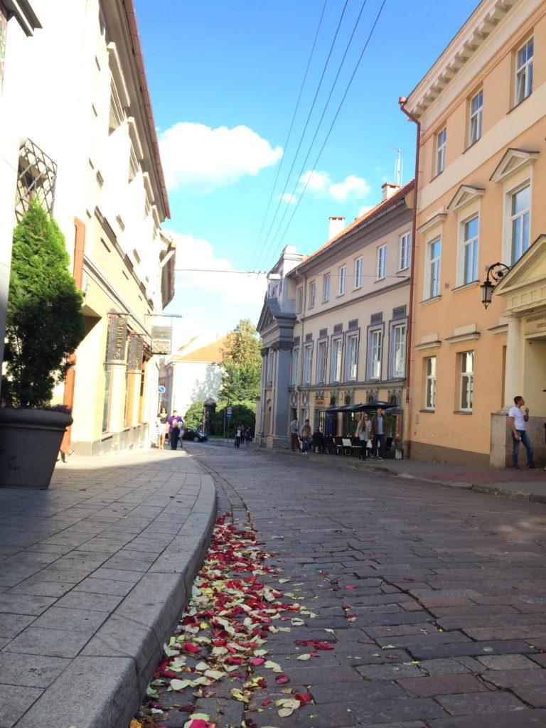 vilnüs sokakları