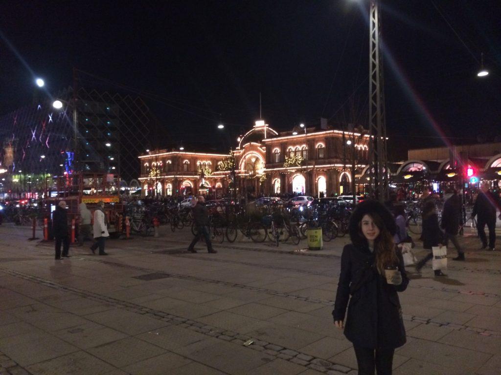 kopenhag tren istasyonu