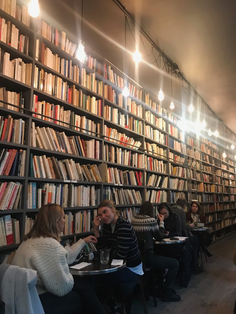 merci used books bookcase