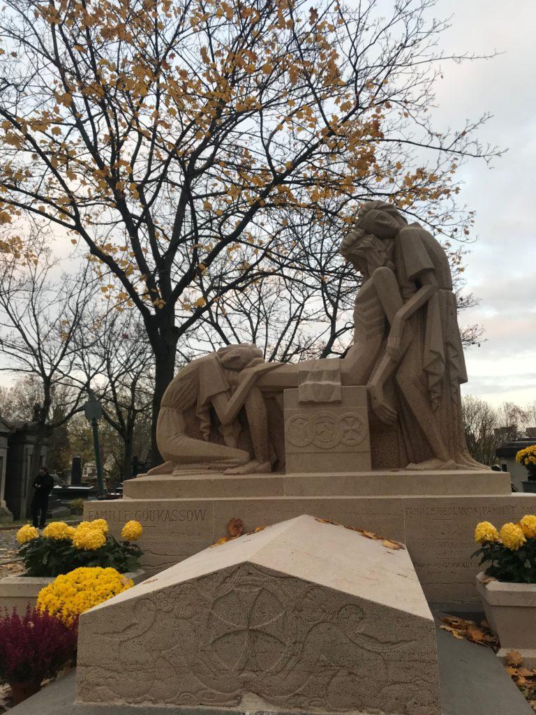 pere lachaise anıt mezar