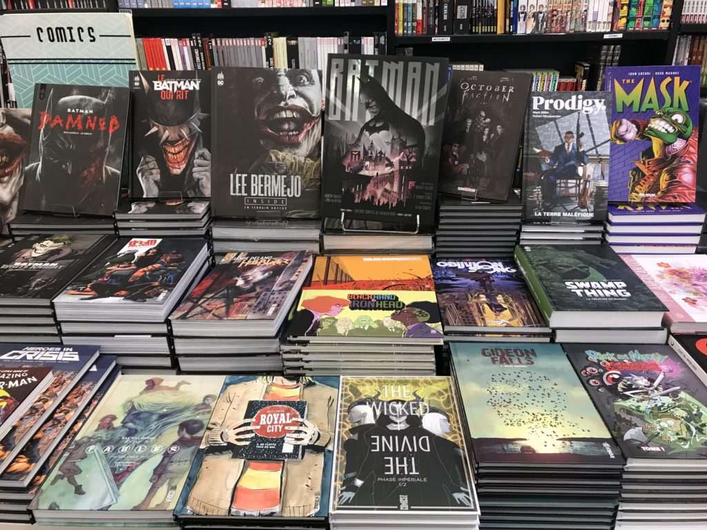 librarie mollat çizgi roman