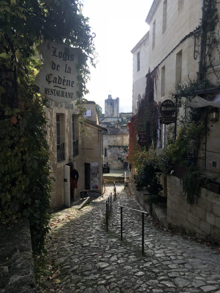 saint emilion sokakları