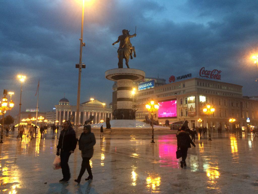 makedonya meydanı üsküp
