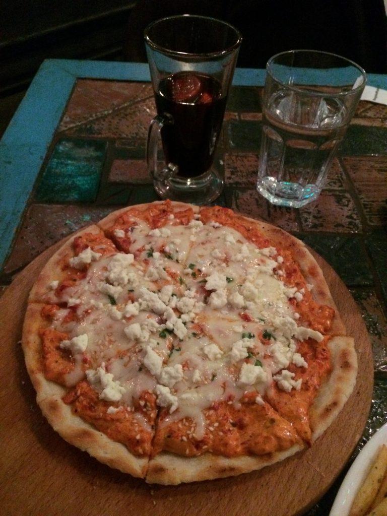 ajvarlı pizza üsküp