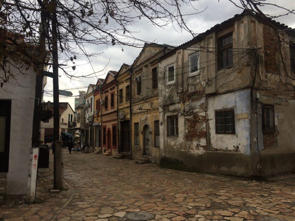 eski pazar sokakları üsküp