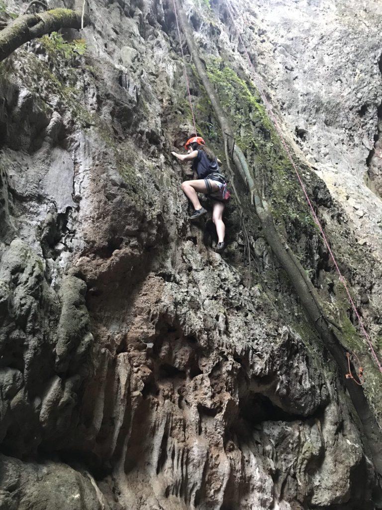 kaya tırmanışı laos