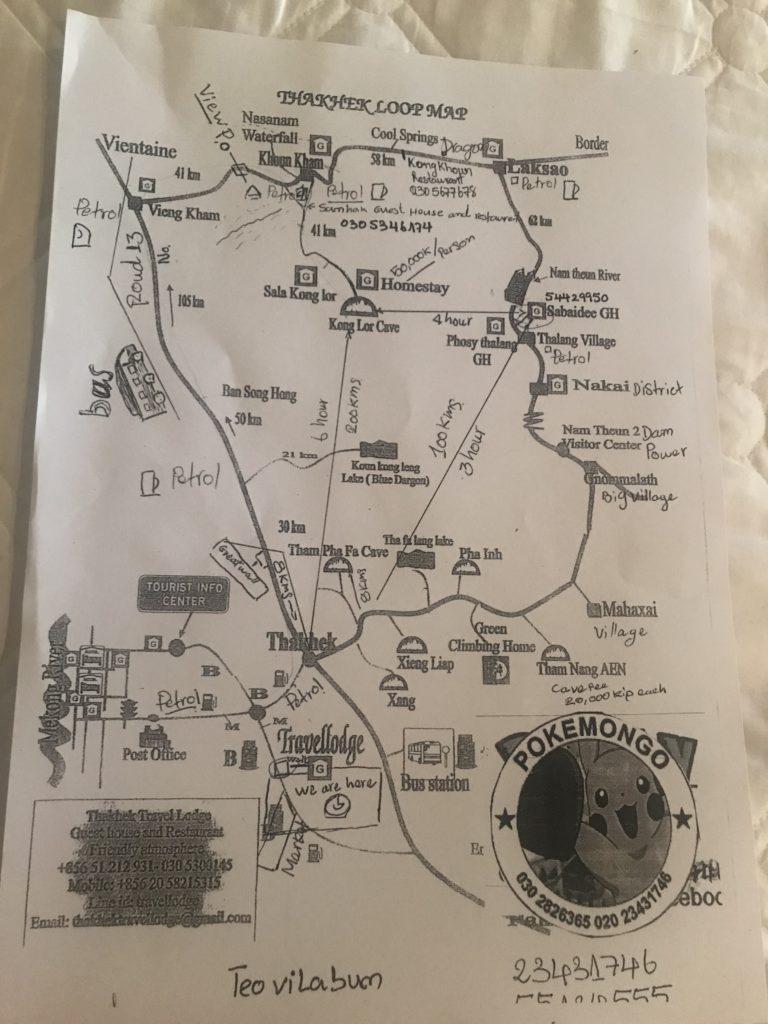 thakhek loop harita