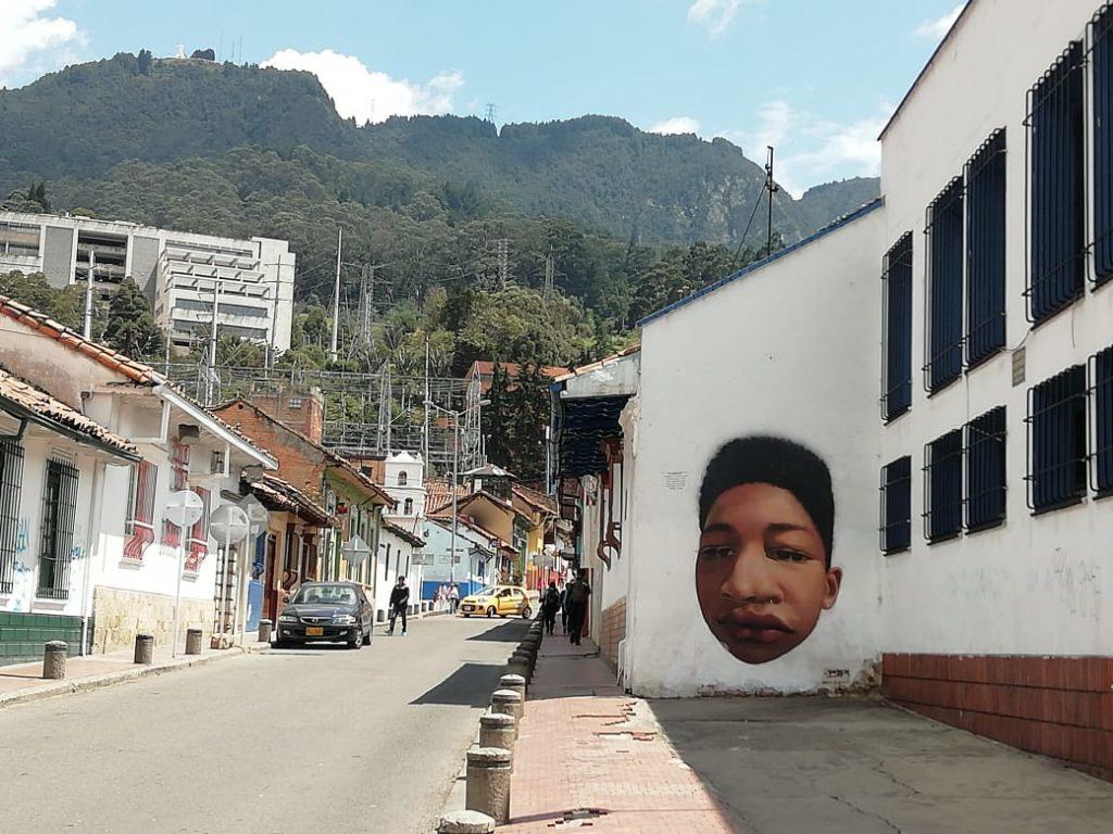 graffiti zenci çocuk bogota
