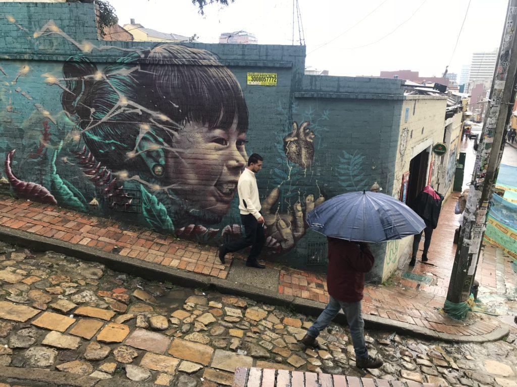 graffiti japon kız bogota