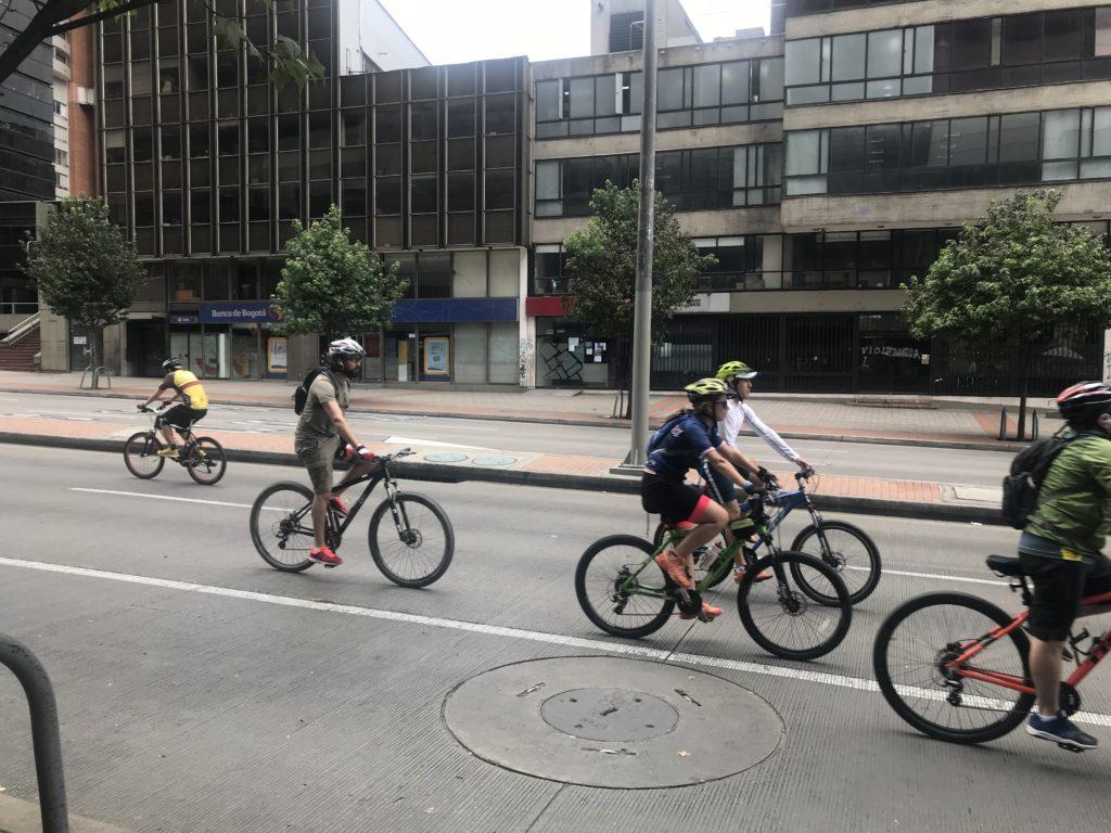 bisikletliler bogota