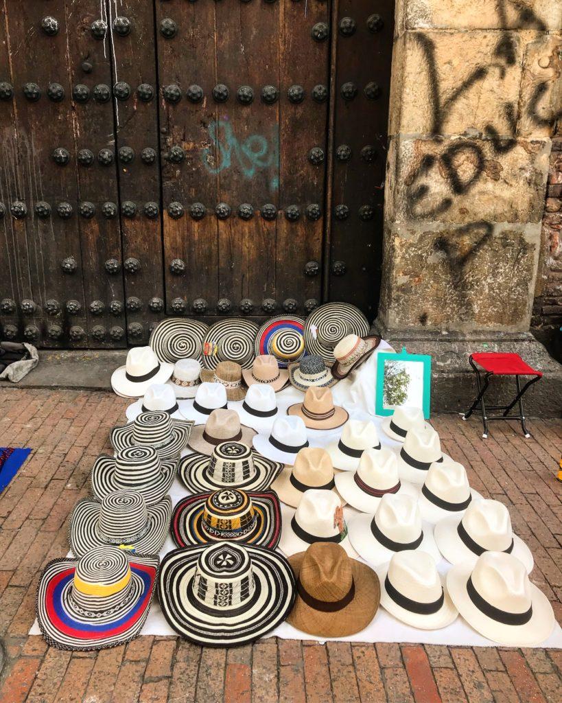 candelaria bogota şapkacı