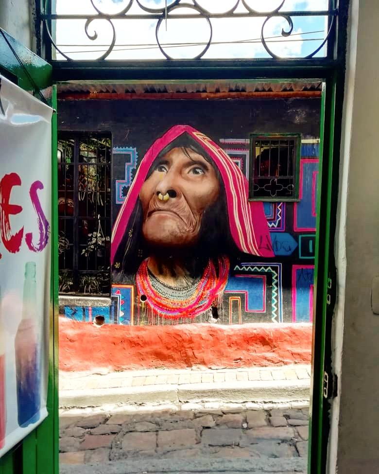 graffiti yerli bogota