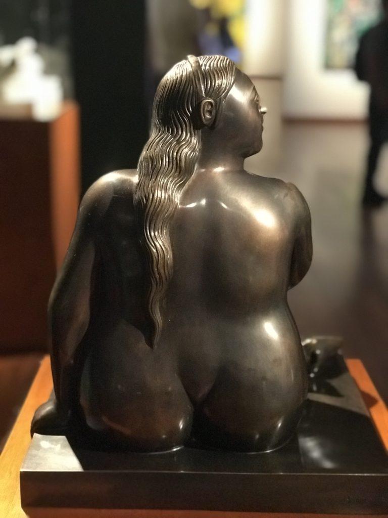 botero müzesi heykel